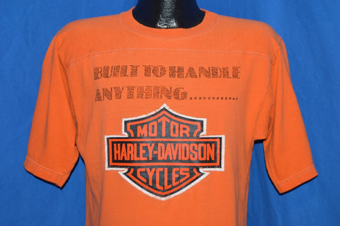 70s Harley Davidson Blue Bar Champion t-shirt Medium