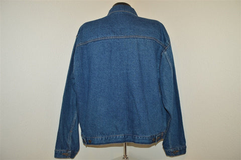 90s Pulp Fiction Movie Trucker Denim Jacket Extra Large