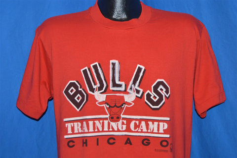 80s NBA Chicago Bulls & Boston Celtics Training Camp t-shirt Large