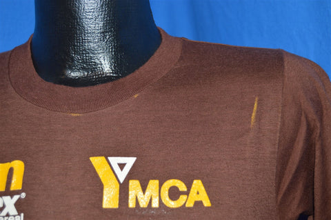 80s Bran Chex YMCA Fitness Day t-shirt Small