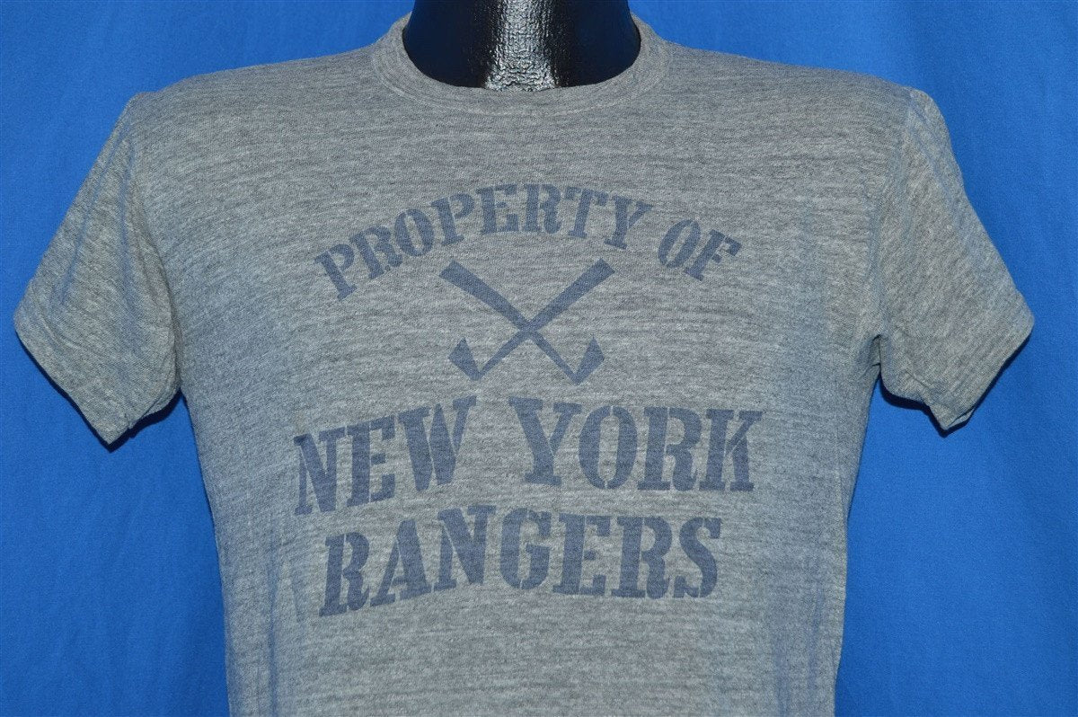 t vintage shirt rangers york new