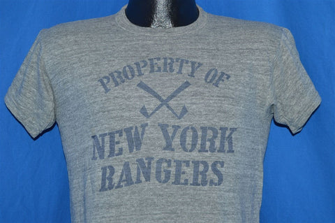 60s Property of New York Rangers t-shirt Medium