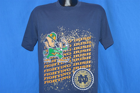 80s Notre Dame Fighting Irish Logo Mascot t-shirt Large