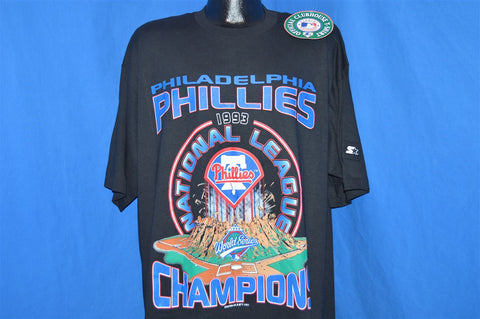 90s NWT Philadelphia Phillies 1993 World Series t-shirt Extra-Large