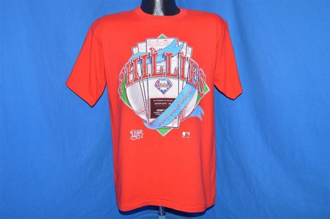 90s Philadelphia Phillies Veterans Stadium Ticket t-shirt Medium