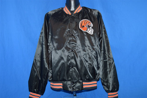 80s Cincinnati Bengals Satin Jacket Extra Large
