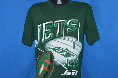 90s New York Jets Field Goal Magic Johnson T's t-shirt Large