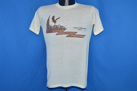 80s Lake George NY Queen of American Lakes t-shirt Extra-Small