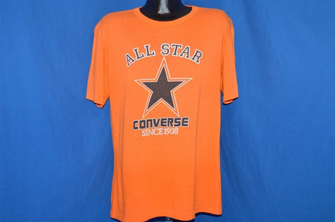 80s Converse All Star Sneakers Logo t-shirt Large