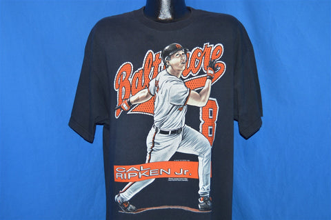 90s Baltimore Orioles Cap Ripken Jr #8 t-shirt Extra-Large