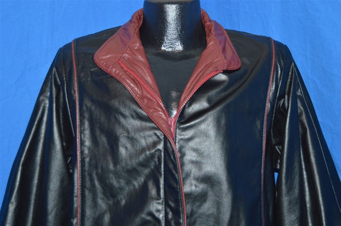 70s Garfin Leather Bomber Jacket Size Large