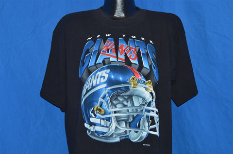 90s New York Giants Football Helmet Logo t-shirt Extra-Large