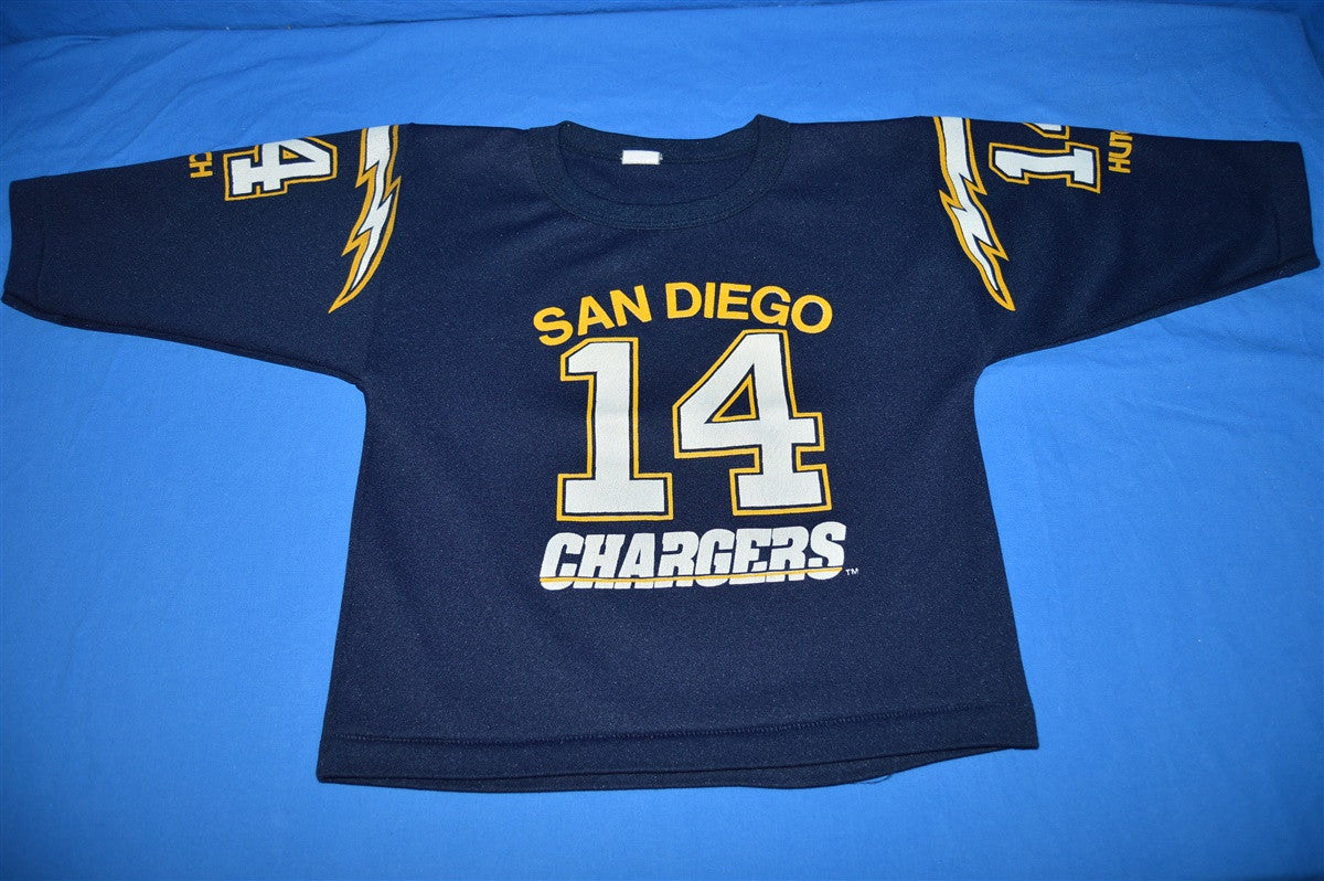 86e4de00 80s San Diego Chargers Hutch Jersey t-shirt Youth Small - The ...