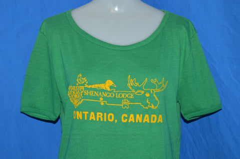 80s Shenango Lodge Ontario Canada t-shirt Womens Large