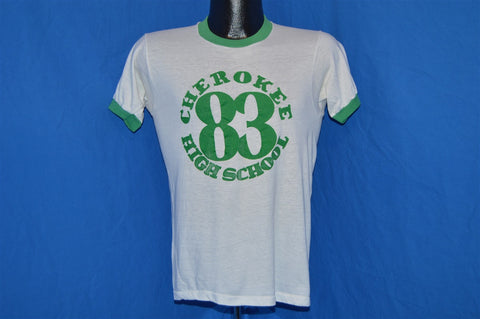 80s Cherokee High School 1983 Ringer t-shirt Small