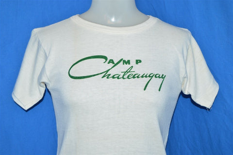 50s Camp Chateaugay Champion Running Man t-shirt Youth Large