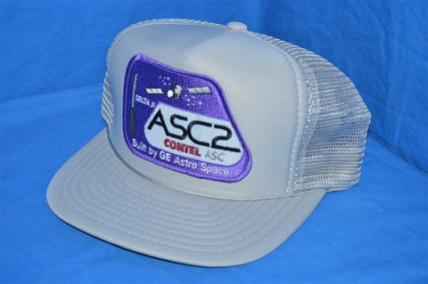 90s ASC2 Contel Astro Space Mesh Trucker Hat