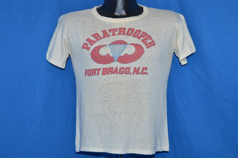 40s Paratrooper Fort Bragg Jump Wings Stencil WWII t-shirt Small