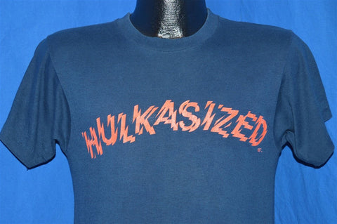 80s Hulk Hogan Hulkasized WWF Pro Wrestling Soft t-shirt Small
