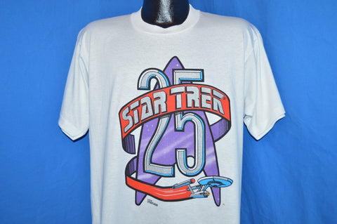 90s Star Trek 25th Anniversary t-shirt Extra Large