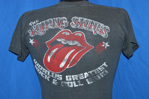 70s Rolling Stones Live in 78 Tour t-shirt Small