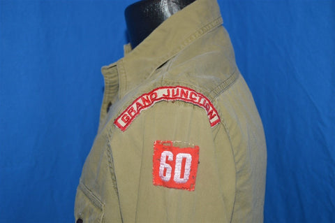 40s Boy Scouts Uniform Change Button Shirt Small