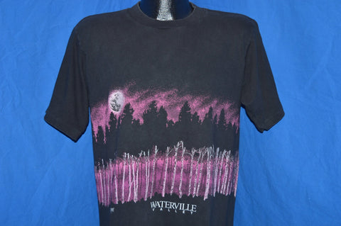 90s Full Moon Forest Waterville Wrap Around t-shirt Large