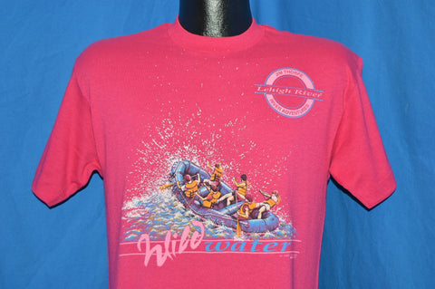 80s White Water Rafting Lehigh Rafter t-shirt Medium