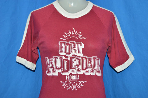 70s Fort Lauderdale Sunset Jersey t-shirt Extra Small