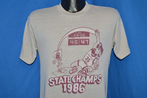 80s Fighting Maroons 1986 State Champions t-shirt Small
