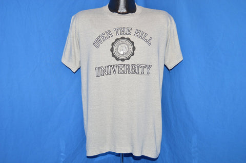 80s Over The Hill University t-shirt Large
