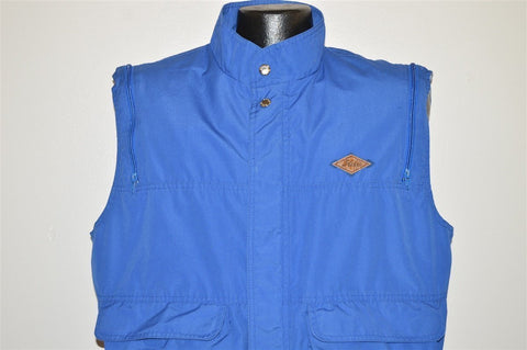80s Hobie Convertible Zip Sleeve Jacket Vest Large