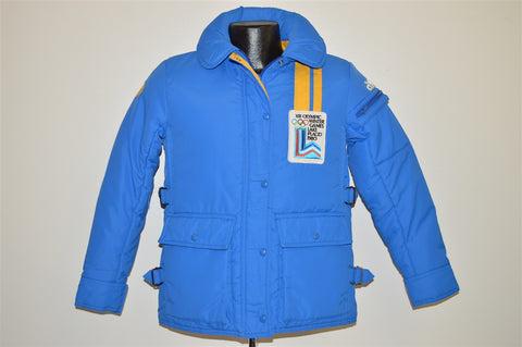 80s Winter Olympics At Lake Placid 1980 Ski Jacket Extra Small