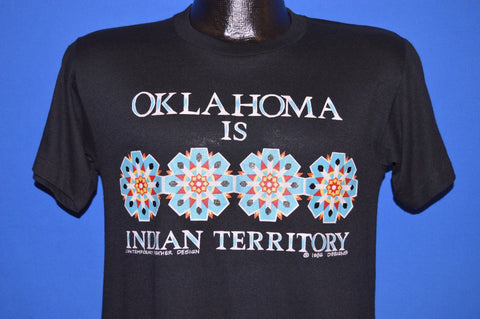 80s Oklahoma Is Indian Territory t-shirt Small