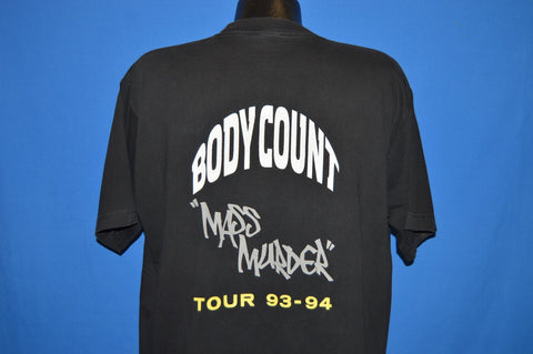 90s Body Count Mass Murder Tour t-shirt Extra Large