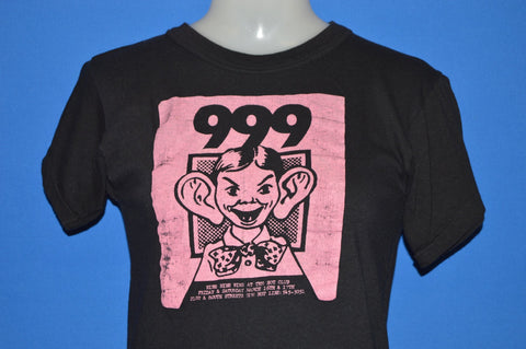 80s 999 British Punk Hot Club Philadelphia t-shirt Small