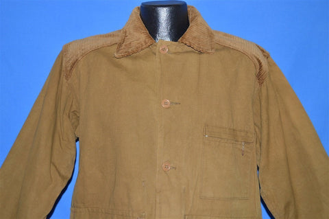 60s Coronet Water Repellant Khaki Hunting Jacket Large