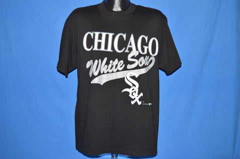 90s Chicago White Sox Baseball MLB Script t-shirt Large