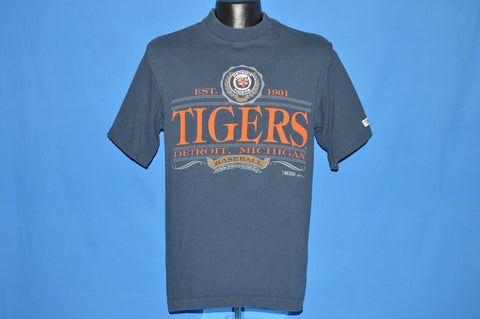 90s Detroit Tigers Dark Blue Baseball t-shirt Medium