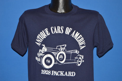 80s Antique Cars of America 1928 Packard t-shirt Medium