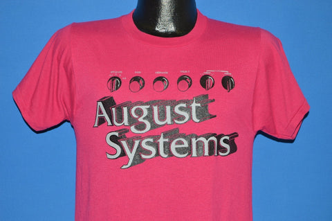 80s August Systems Stereo Knobs t-shirt Small