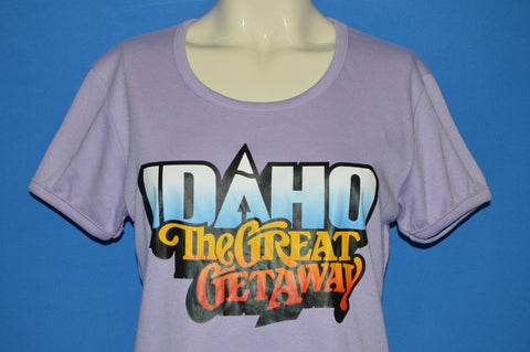 80s Idaho The Great Getaway t-shirt Women's Small