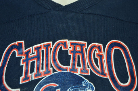 80s Chicago Bears Helmet Jersey t-shirt Youth Medium