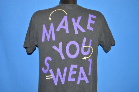 90s Club MTV Tour Gonna Make You Sweat t-shirt Large