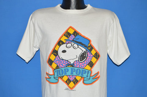 80s Snoopy Top Pop Father's Day t-shirt Medium