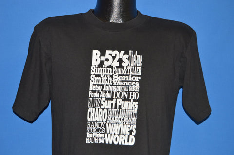 90s LA Gear Tour B-52's Pixies The Cure t-shirt Medium