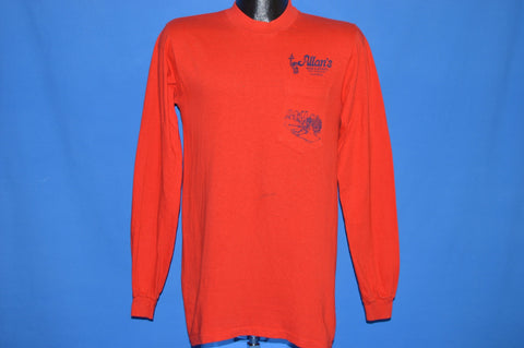 80s Ski Allan's Wine & Spirits Long Sleeve t-shirt Small