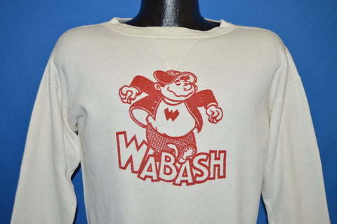 40s Wally Wabash College Don Cole Sweatshirt Medium