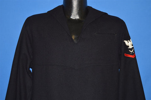 40s United State Navy Undress Wool Uniform shirt Large