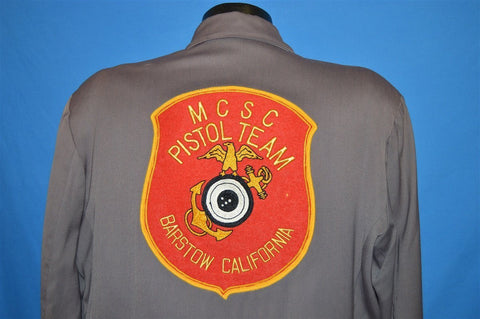 50s MCSC Pistol Team Marines Barstow Jacket Large